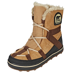Sorel Glacy Expl**** Shortie Støvler Damer beige/sort
